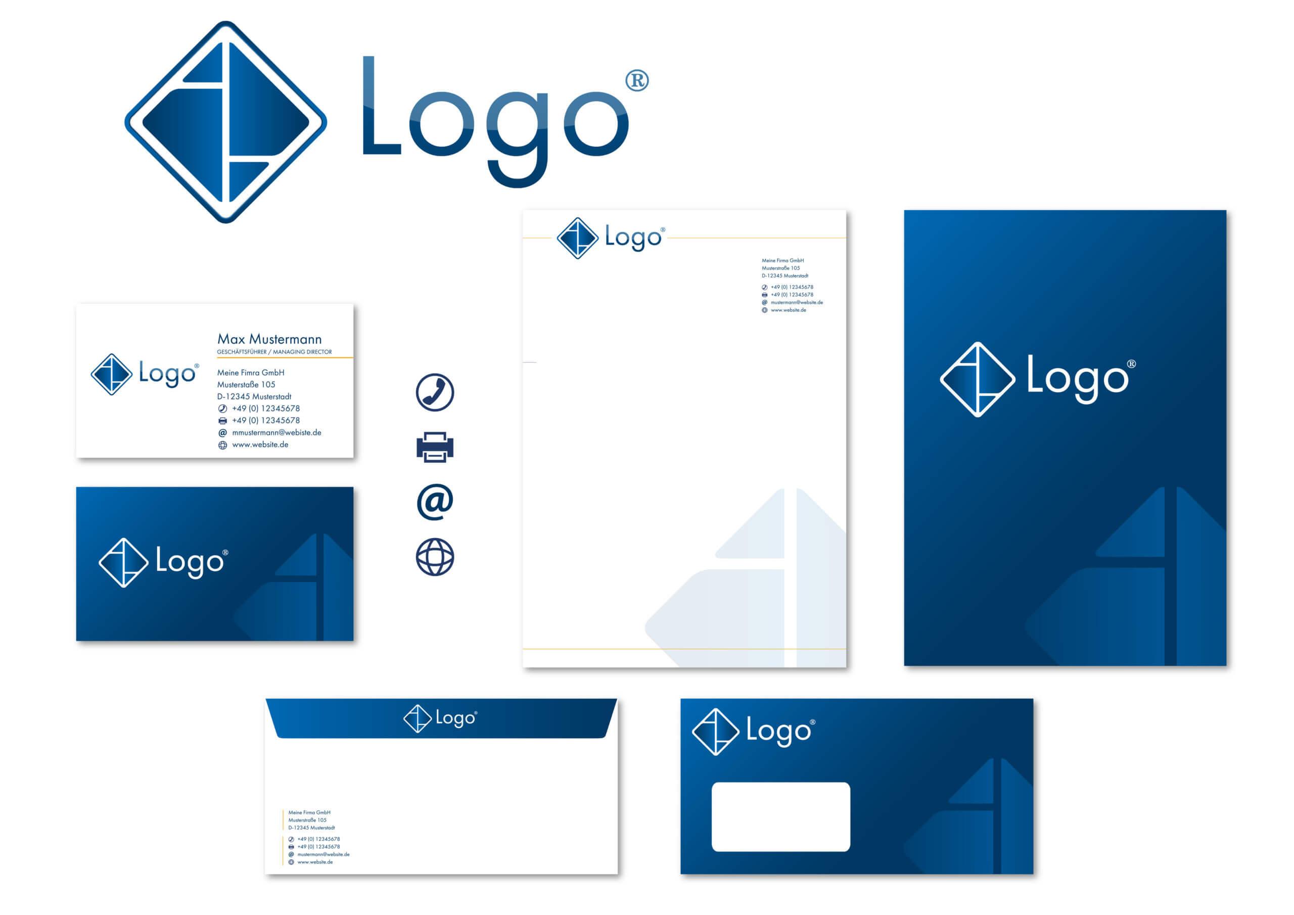 GSB Design Geschäftsausstattung