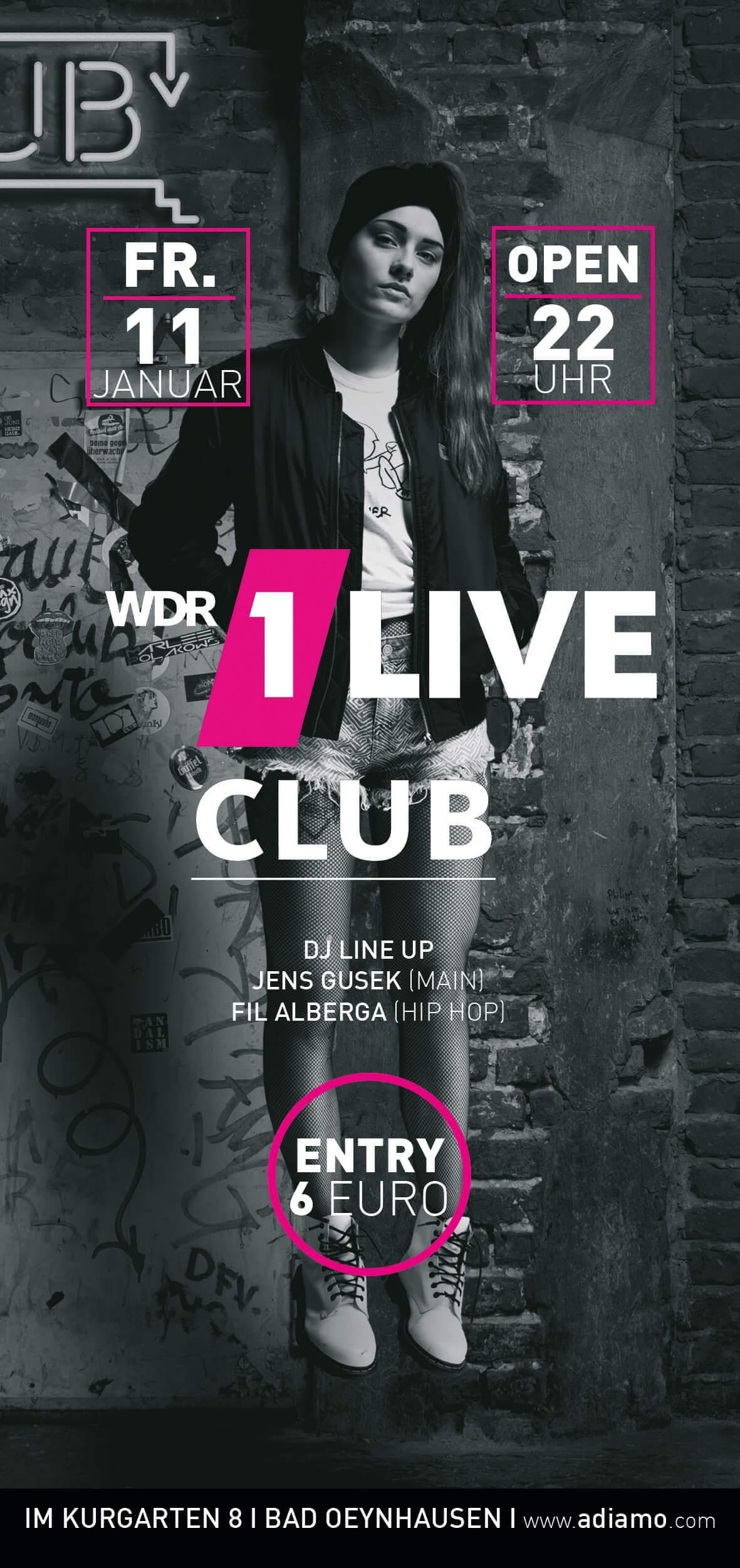 Flyer 1 Live Club