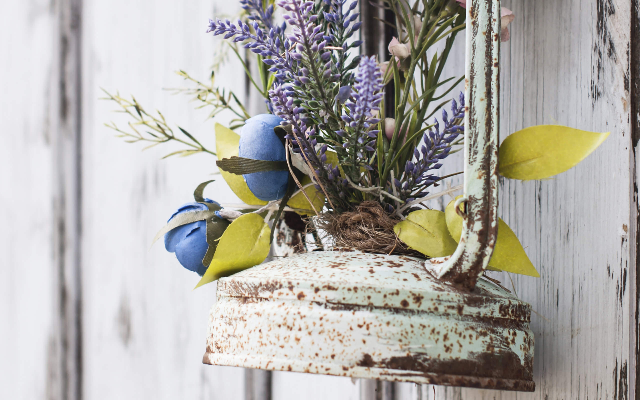 GSB Design Blumen Lampe